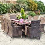 Большой набор садовой мебели