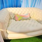Надувной диванчик