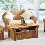 Набор плетёной мебели