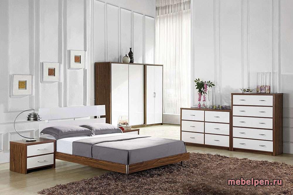 Набор корпусной мебели со светлыми фасадами