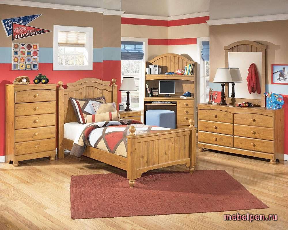Набор корпусной мебели для детской