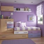 Кровать со встроенными шкафами