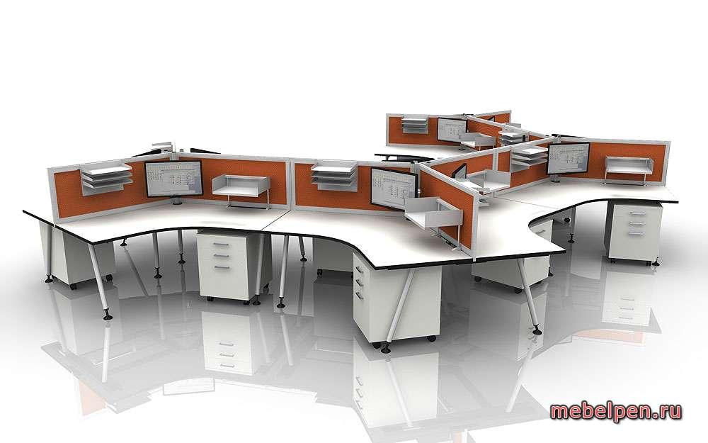 Модульные столы для офиса