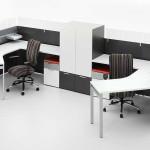Сдвоенный стол для офиса